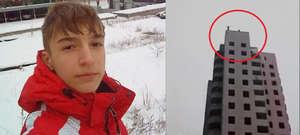 15-latek zrobił spadochron i skoczył