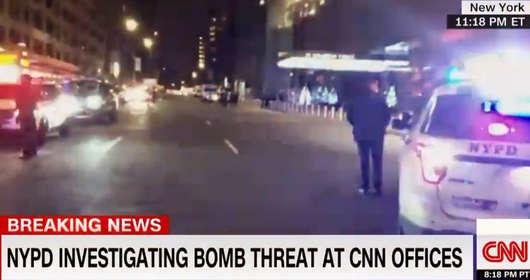 cnn bomba alarm