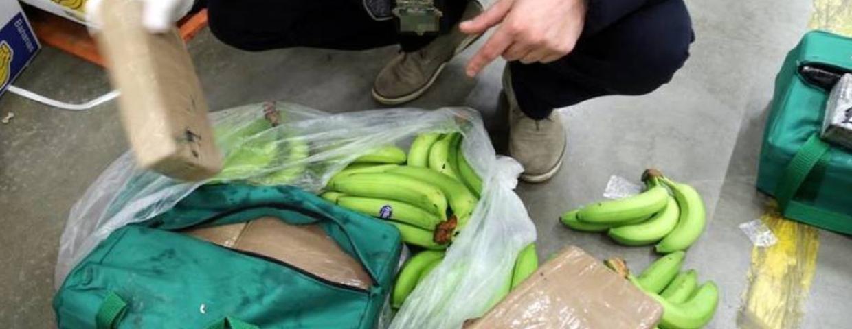 banany z kokainą