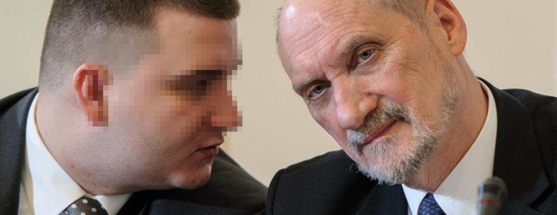 Bartłomiej M. zatrzymany! Ulubieniec Macierewicza w rękach CBA