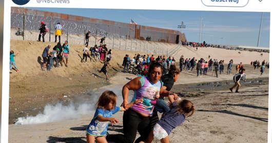 Granica USA-Meksyk - atak imigrantów i użycie gazu łzawiącego przez amerykańskie służby. Donald Trump spełnia obietnice i groźby