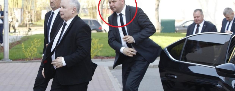 Kierowca Kaczyńskiego zarabia majątek