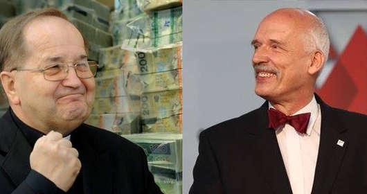 Janusz Korwin-Mikke i Tadeusz Rydzyk - wspólny start w wyborach do Parlamentu Europejskiego?