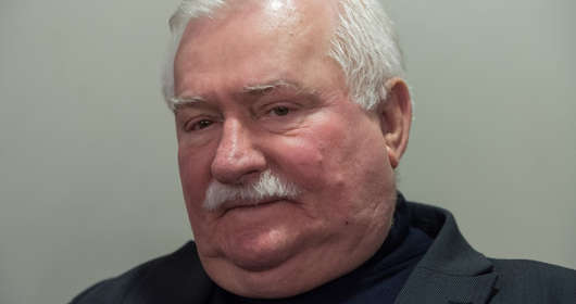 Lech Wałęsa wpadka