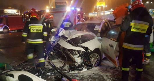 Łódź taksówka 17-latka