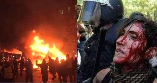 Protesty we Francji - Ewa Lieder (Nowoczesna) porównała je z Marszem Niepodlełości