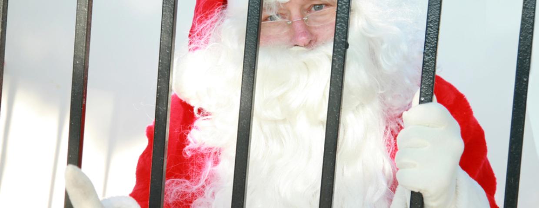 Święty Mikołaj interwencja policji