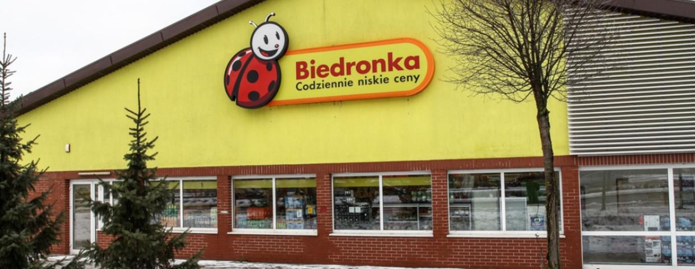 Robaki w Biedronce w Olsztynie