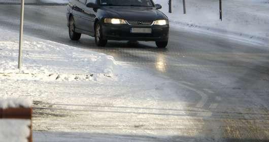 pogoda piątek ostrzeżenia IMGW lód na drogach