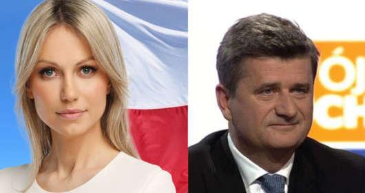 Atak na Magdalenę Ogórek przed TVP. Janusz Palikot i ostra wypowiedź na Twitterze - pojawiły się przeprosiny. Były poseł zapłąci pieniędze na cel charytatywny?