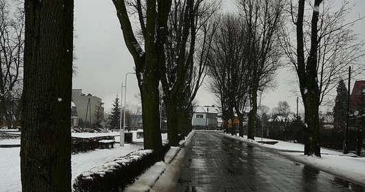 pogoda wtorek lód opady śniegu
