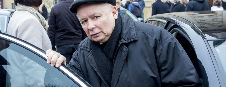 Policjant zatrzymał limuzynę Kaczyńskiego