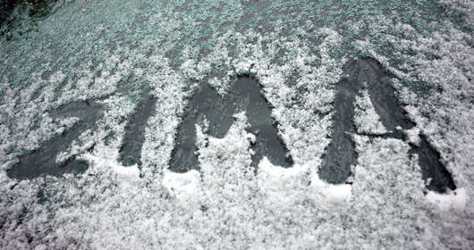zima pogoda czwartek 13 grudnia