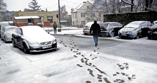 śnieg pogoda wtorek