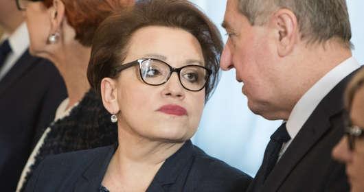 Anna Zalewska MEN reforma oświaty