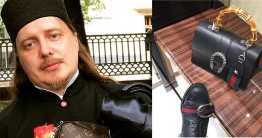 Torby za kilka tysięcy, buty Gucci - duchowny z Rosji chwali się luksusowym życiem