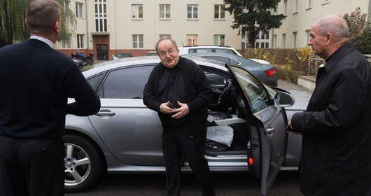 Samochód Rydzyka