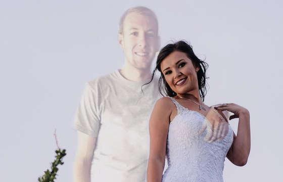 Ślubna sesja zdjęciowa – wzruszające zdjęcia? Narzeczony nie dożył ślubu, ale jest na fotografiach