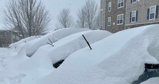 burza śnieżna usa