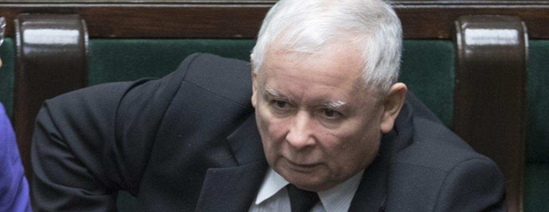 jarosław kaczyński pis pe