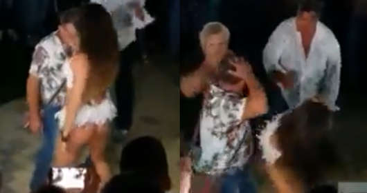Włochy seksowny taniec erotyczny striptiz