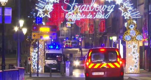 Strzelanina na jarmarku w Strasburgu