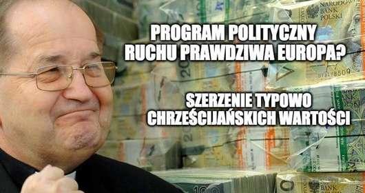 Tadeusz Rydzyk zakłada partię