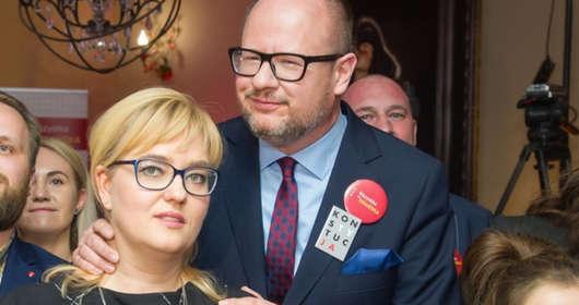żona Pawła Adamowicza oskarża TVP