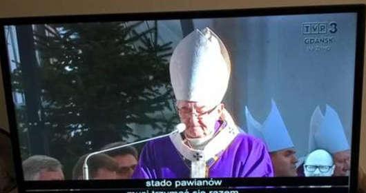 pogrzeb Pawła Adamowicza wpadka TVP3