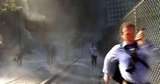 WTC atak 11 września Mark LaGanga wideo