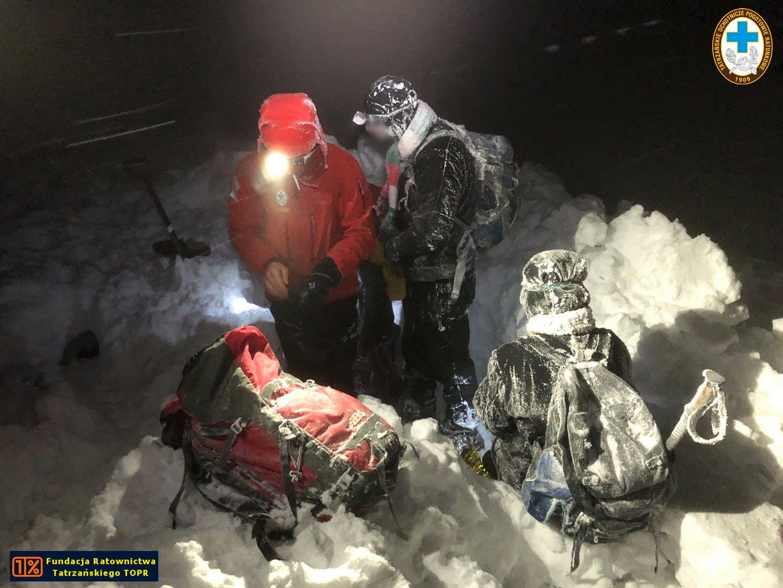 Akcja ratowników Topr w górach