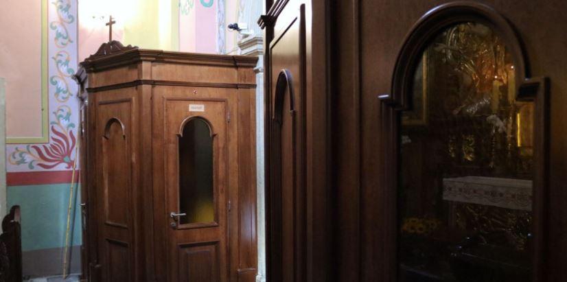 Bazylika Matki Bożej Anielskiej kalwaria zebrzydowska konfesjonał spowiedź 3