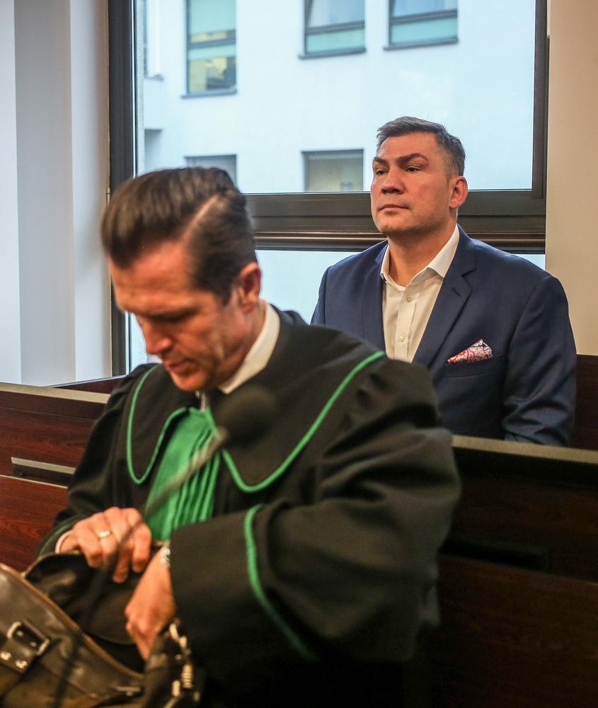 Dariusz Michalczewski w sądzie