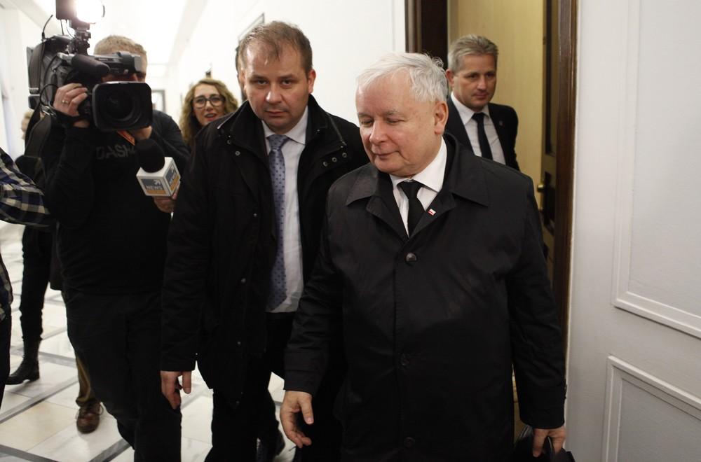 Jacek Cieślikowski i Jarosław Kaczyński.