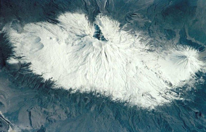 Góra Ararat widziana z kosmosu
