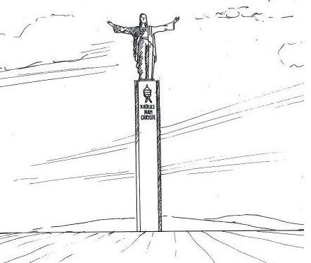 jezus jasło pomnik