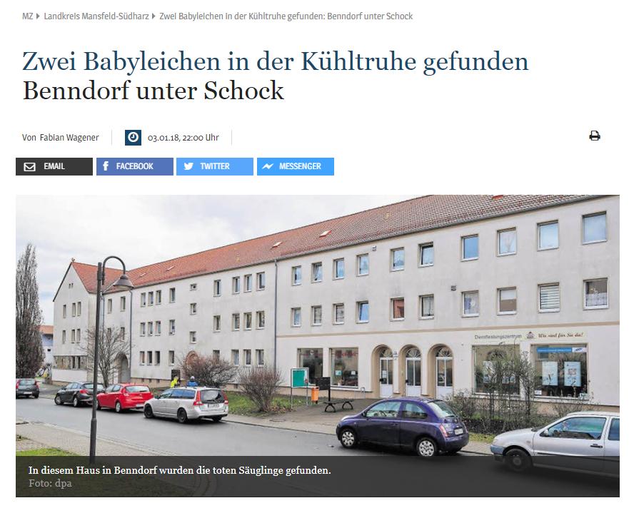 Makabryczne odkrycie w Niemczech. Ciała dzieci w zamrażarce