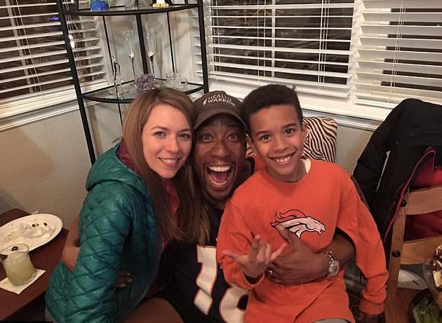 Milan Ross z rodziną
