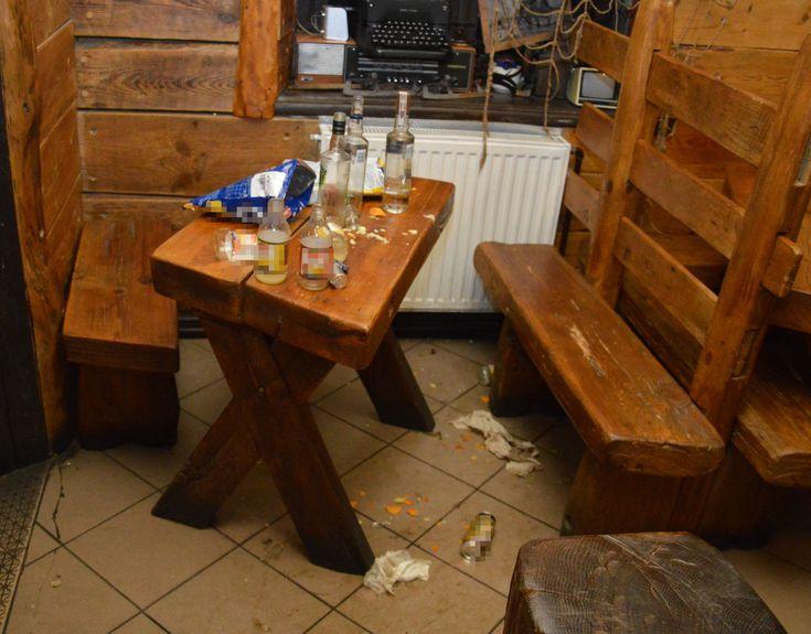 Nastolatek w lubelskim ukrył się w barze