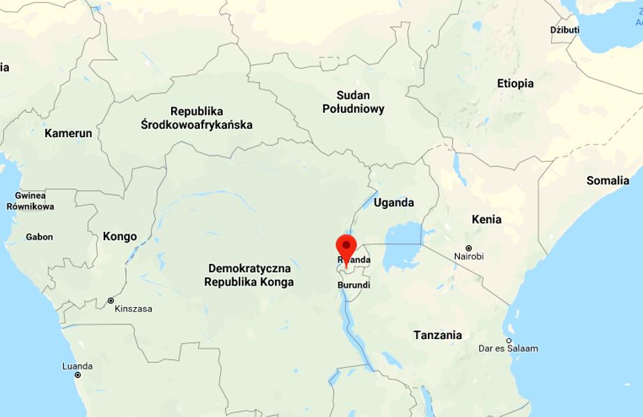 Piorun trafił w kościół w Rwandzie