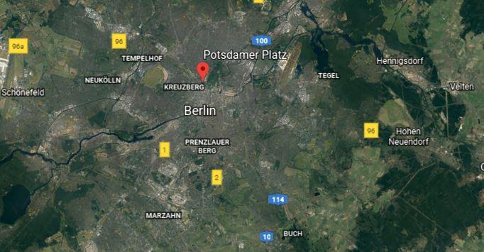 plac poczdamski w Berlinie