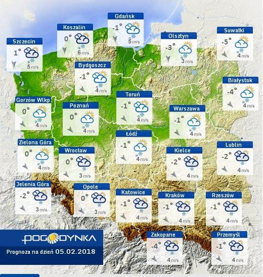 pogodynka prognoza pogody