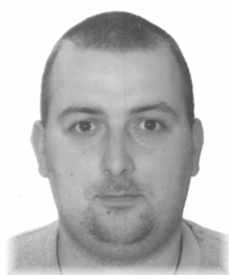 Poszukiwany listem gończym Bartosz Donarski
