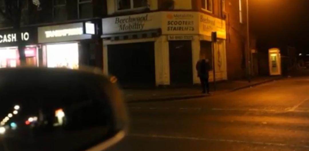 Prostytutka na ulicy