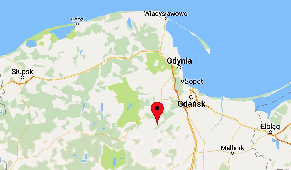 Przywidz Mapy Google