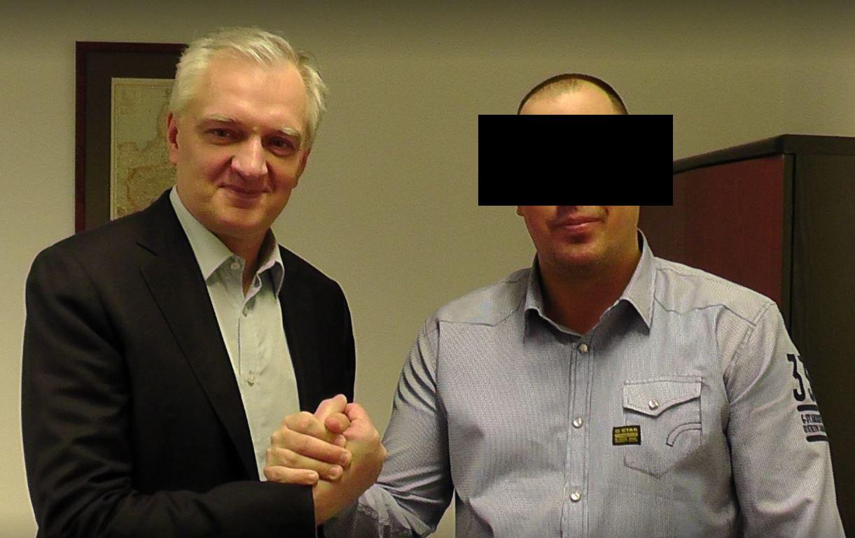 Raper Żurom i Jarosław Gown