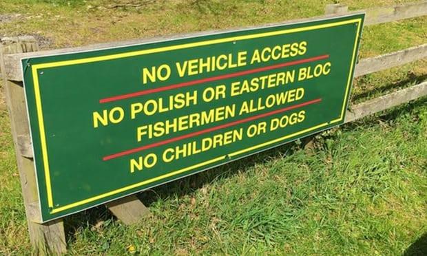 Zakaz wstępu dla Polaków na łowisku