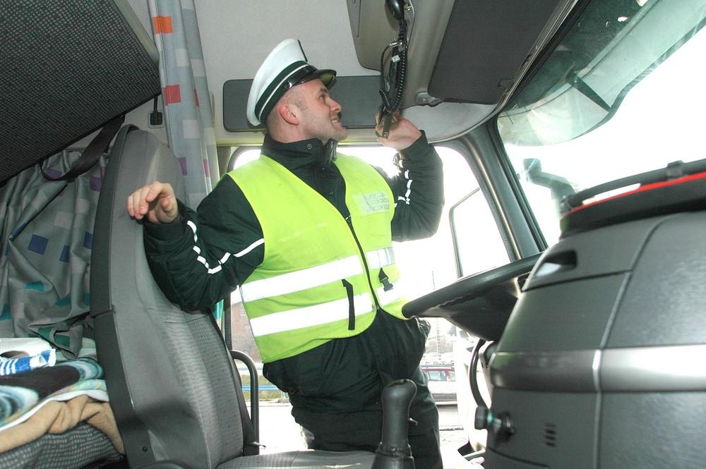 tachograf w ciężarówce kontrola