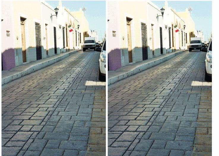 ulica Imgur złudzenie optyczne