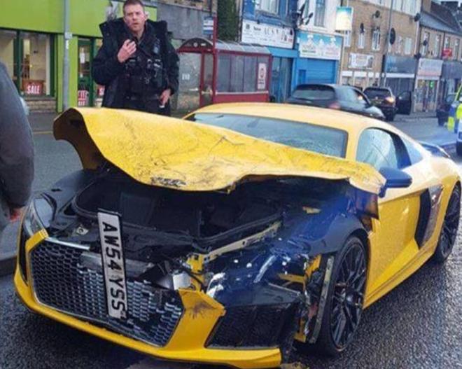 wypadek Audi R8